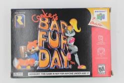 Conker Bad Fur Day 64 US Complet Rare Ninitendo