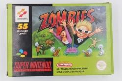 Zombies Complet Super Nintendo Rare Nintendo