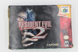 Resident Evil 2 US Complet 64 Nintendo Rare