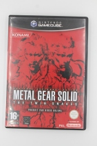 Twin Snakes Metal Gear Solid Gamecube Complet PAL rare