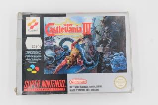 Super Castlevania 4 Super Nintendo PAL Complet Rare