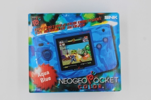 iNeo Geo Pocket Color CamoBlue SNK Rare Complet