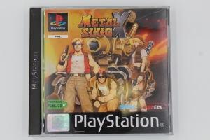 Metal Slug X Sony Rare PS1 Playstation Complet