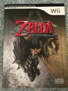 zelda twilight princess wii guide strategique mint