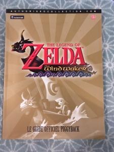 zelda wind waker gamecube guide strategique mint