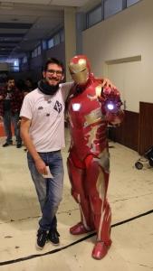 cosplay iron man savoie retro games festival 2016