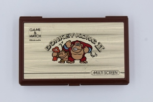 game and watch vintage screen donkey kong 2