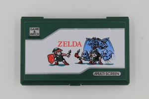 game and watch vintage screen zelda