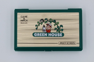 game and watch vintage screen green house