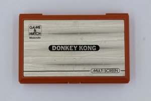 game and watch vintage screen donkey kong