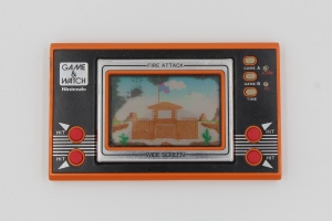 game and watch vintage screen fire attack