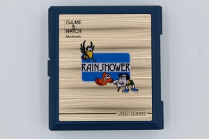 game and watch vintage screen rain shower