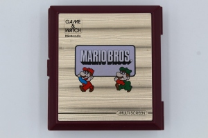 game and watch vintage screen mario bros