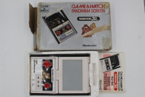 game and watch vintage panorama screen donkey kong jr