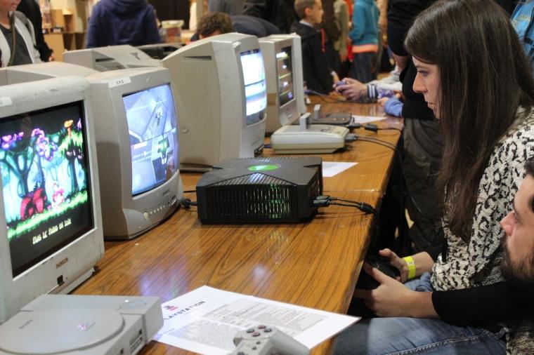 savoie retro games festival consoles stand 2016