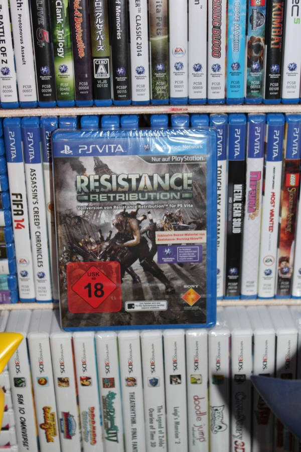 resistance ps vita collection cedric acksell sonic sega nintendo sony holdies gameroom jeux video retrogaming