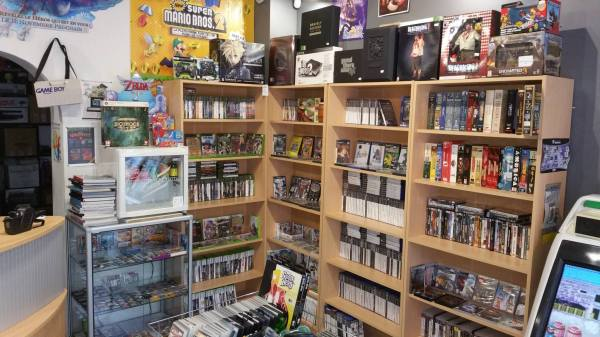 boutique retrogaming matos & games rouen