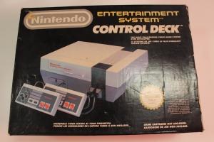 console nes complet control deck pack nintendo