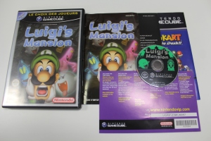 luigi mansion gamecube