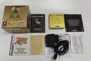 console game boy advance sp zelda edition