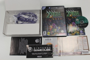 coffret zelda four swords gamecube complet