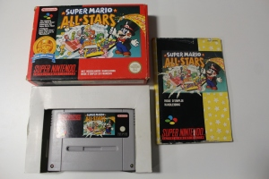 super mario all stars nintendo snes complet