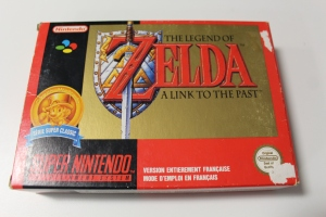 zelda link to the past snes super nintendo complet soluce brochure carte du monde map