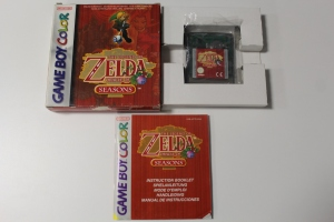 zelda oracle of seasons game boy color