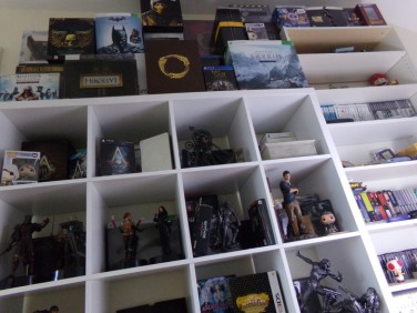 collection, collectioneur, figurines, figurines uncharted, drake, uncharted, figurines nathan drake, skryrim, jeux ps3, jeux sony