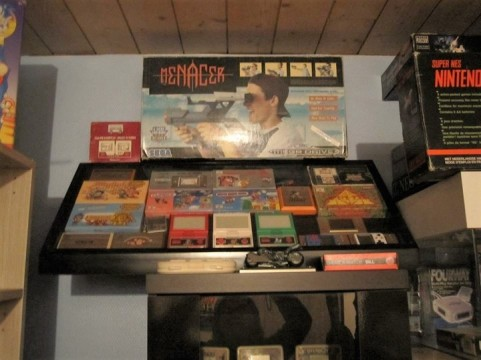 game and watch, collection rétro, collection retrogaming, super nes nintendo, nintendo, menacer
