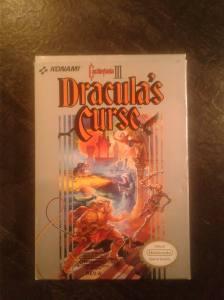 castlevania 3 nes dracula curse