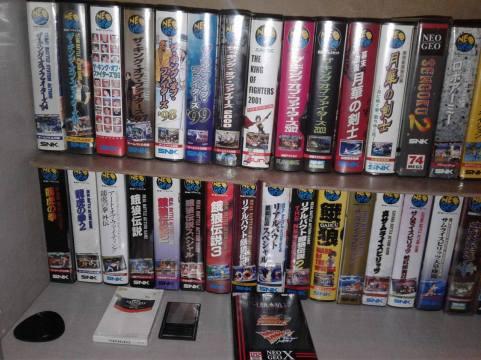 collection jap megadrive neo geo super famicom ali collectionneur vampire killer nec saturn