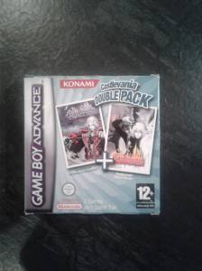castlevania double pack gba nintendo complet