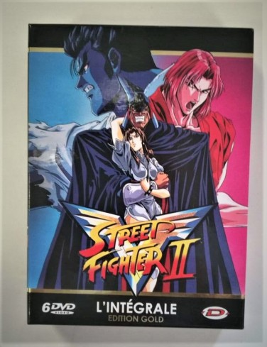 Coffret DVD Street Fighter 2 édition collector