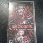 castlevania dracula x chronicles psp sony
