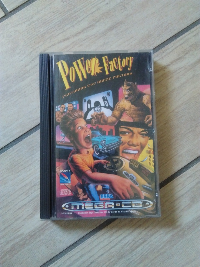 power factory sega mega cd