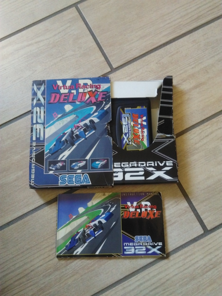 virtua racing deluxe sega 32X