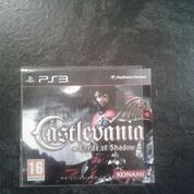 castlevania lords of shadow ps3 sony not for sale disc promo