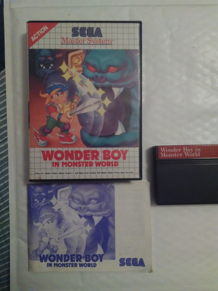 wonder boy monster land sega master system
