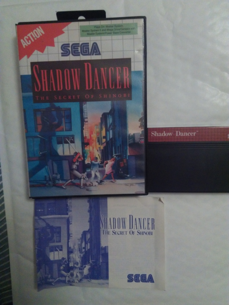 shadow dancer sega master system