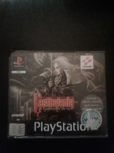 castlevania symphony of the night sotn edition collector 4 langues big box double boitier sony ps1 playstation
