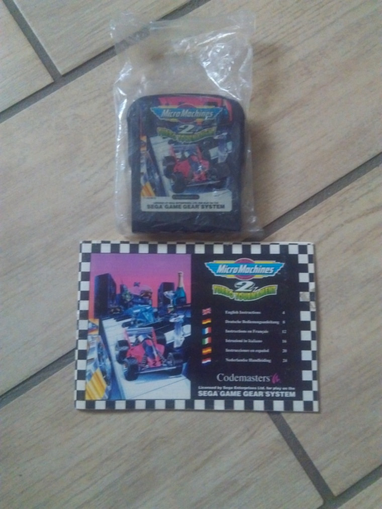 micromachines sega game gear