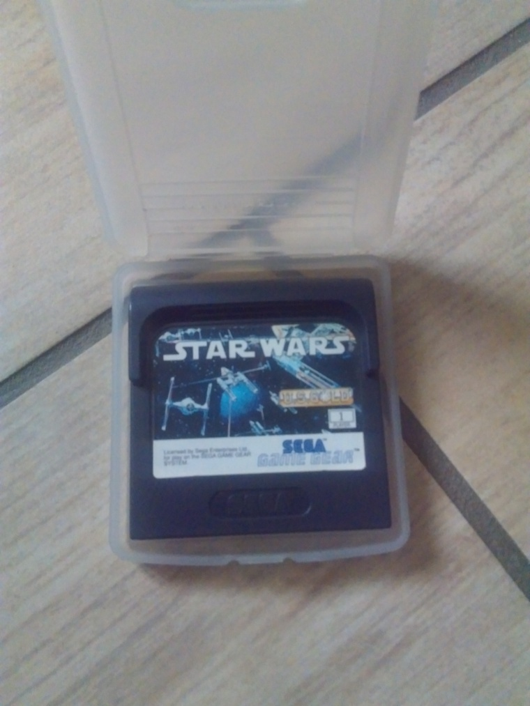 sega game gear star wars