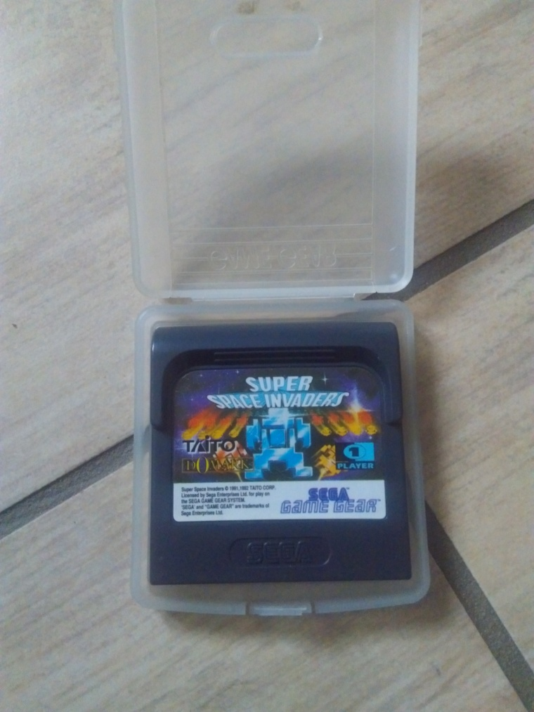 space invaders sega game gear