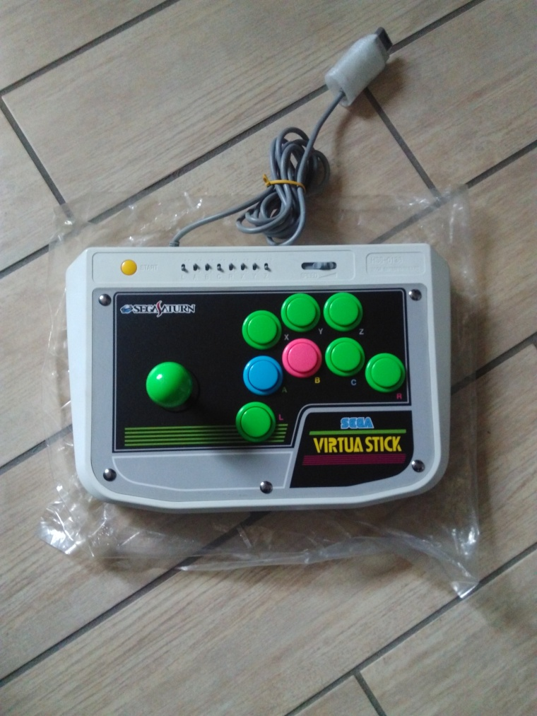 stick virtua saturn sega