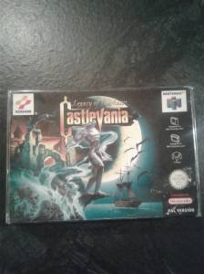 castlevania pal nintendo 64 complet legacy of darkness