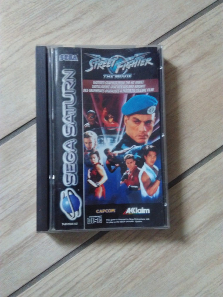street fighter saturn sega