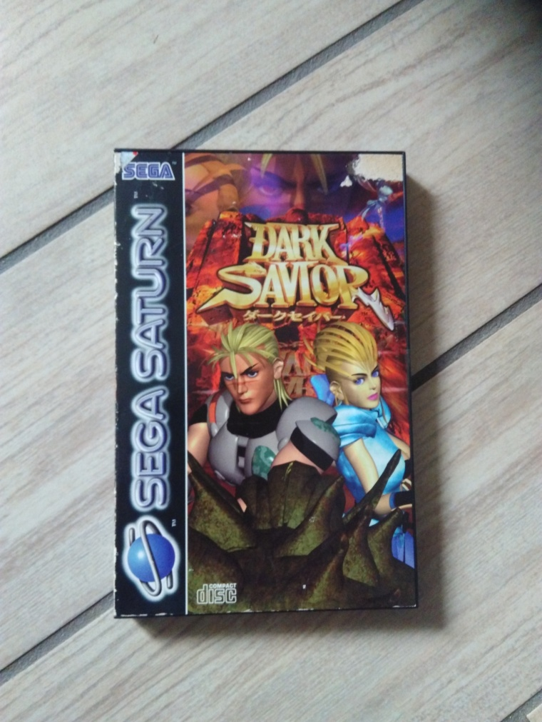 dark savior saturn sega