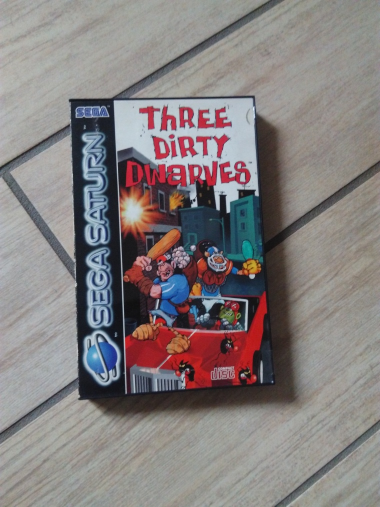 three dirty dwarves saturn sega