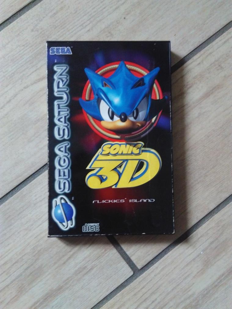 sonic 3d saturn sega